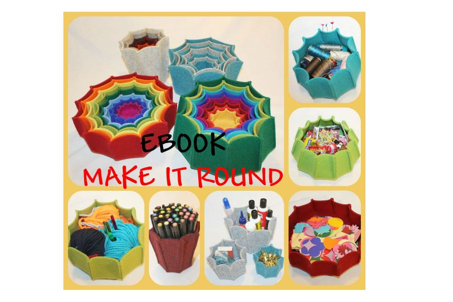 Ebook Nähen mit Filz - MAKE IT ROUND